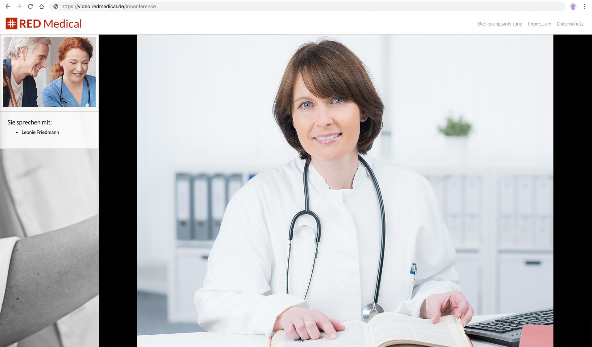 Videosprechstunde für Ärzte