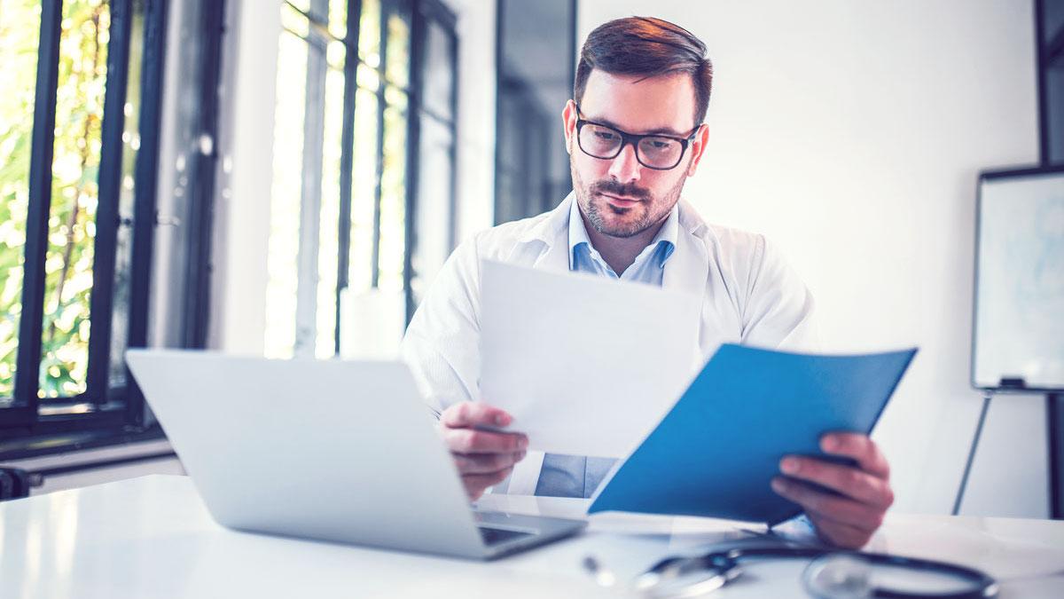 Dokumentationspflicht, Arzt, Praxis, Software, Patientenakte