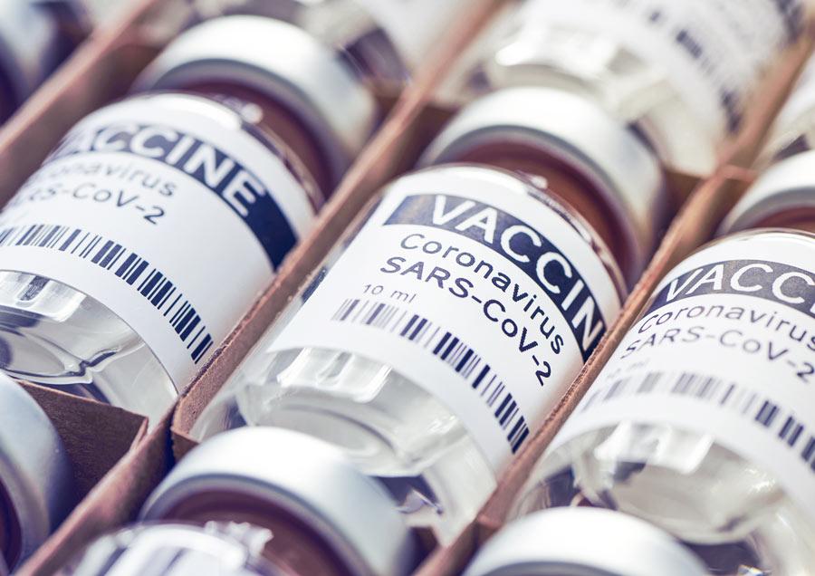 Impfstoff Flaschen